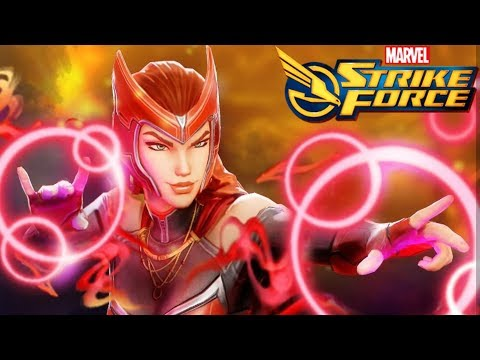 Scarlet Witch Revealed - Marvel Strike Force