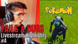 SteelBree hat POKÉMONS in Fortnite?! 😱 | Livestream Highlights #4 | FAILS & BUGS