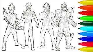 Ultraman Zero Wiki Monsters Ultra Sever Heroes # 2 Coloring Pages   Colouring Pages for Kids