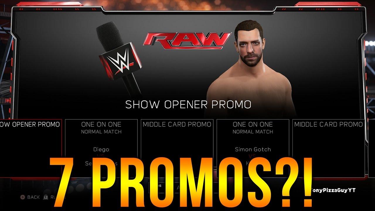 Download WWE 2K17 Giveaway & 7 PROMOS ✦ 【WWE 2K17 - My Career Mode】