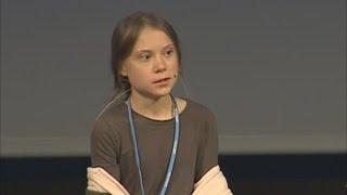 """Greta Thunberg: """"""""Hemos conseguido cosas pero no una victoria"""""""""""