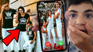 CALLING THE REAL ROYALTY FAMILY!! (FERRAN GOT ON THE PHONE!)