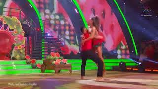 Sara Corrales Bailando Llorando Se Fue En Mira Quien Baila / Ago-2018