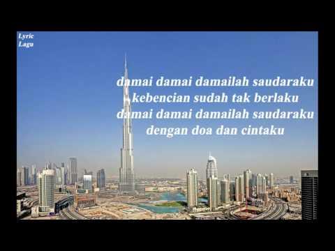 God Bless - Damai ( Lyric Video )