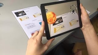 Augmented Reality Physics Book by ARLOOPA
