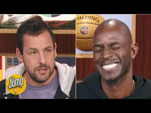 Kevin Garnett and Adam Sandler play 'What Were You Thinking?' | The Jump