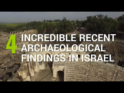 4  Incredible Recent Archaeological Findings In Israel