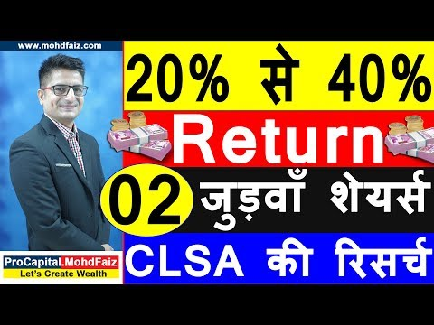 20 % से 40 % Return    Latest Share Recommendations   Latest Stock Market Recommendations