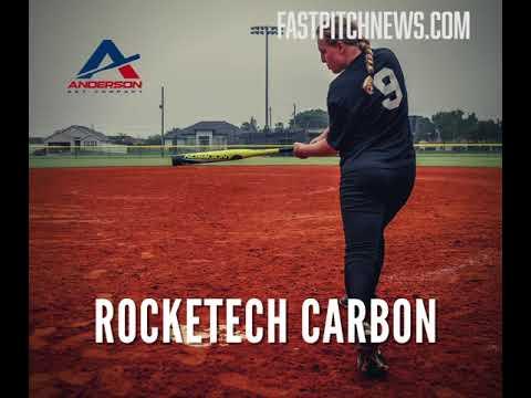 -10 2021 Anderson Rocketech Carbon Fastpitch Softball Bat