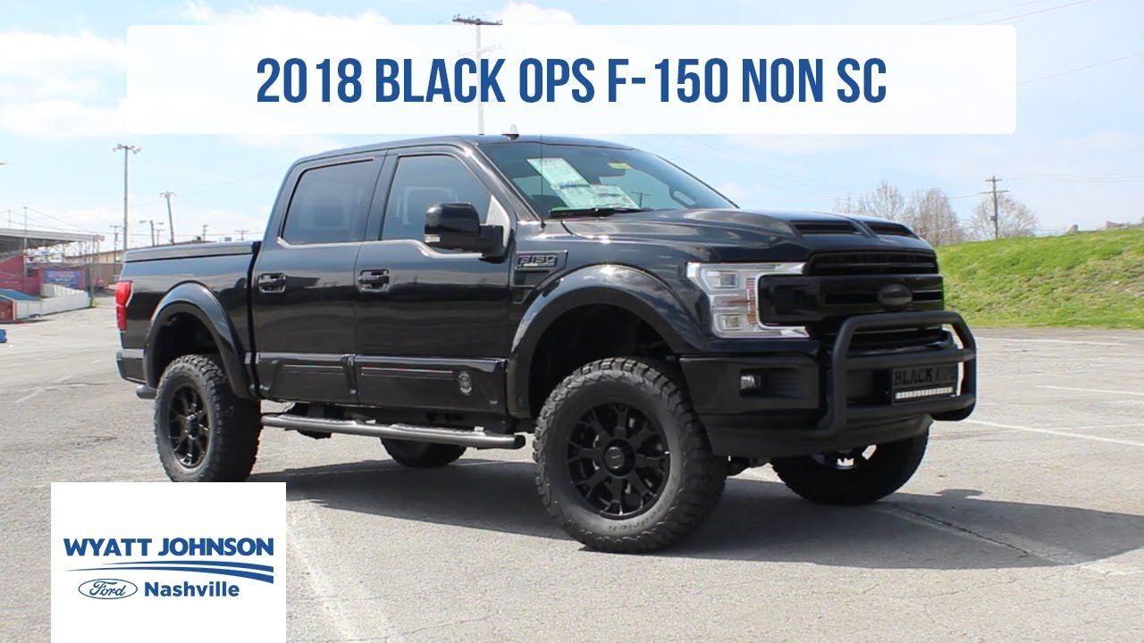 2018 Ford F 150 Black Ops By Tuscany For Sale Youtube