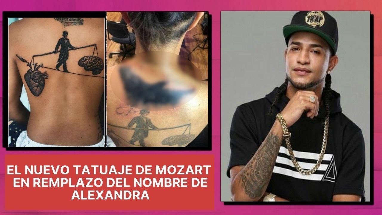 Tatuajes De Famosos El Ultimo Accesorio De Moda: Wilson Sued Comenta Sobre El Nuevo Tatuaje De Mozart La