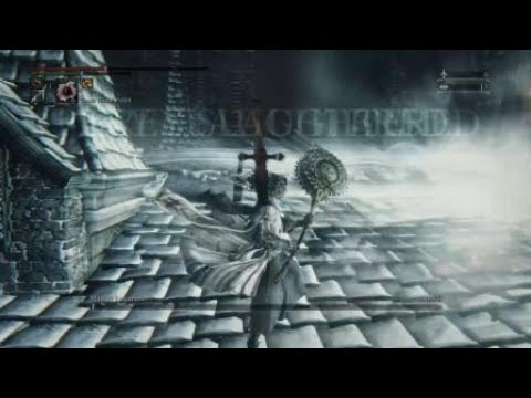 Bloodborne (NG++++) - Logarius for about 75 sec