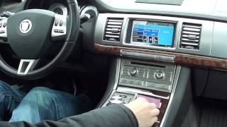2010 jaguar xf supercharged interior introduction