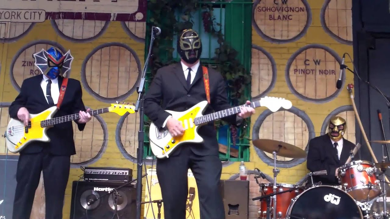 Los Straitjackets @ City Winery Music Festival 6/11/13 - YouTube