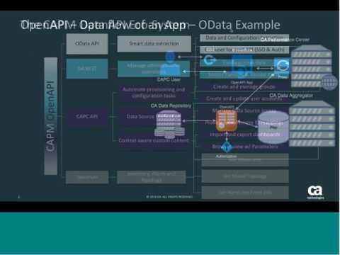CA Performance Management Tech Series OpenAPI & JavaScript Apps