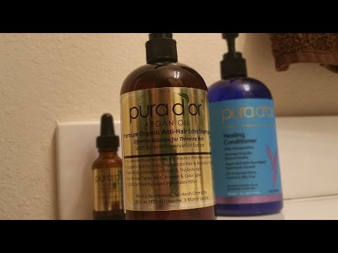 Pura D'or PCOS Hair Loss Update! #goldhairchallenge