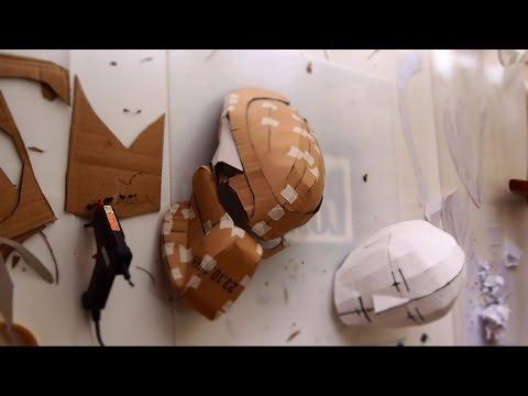 #80: Predator Bio-Mask Part 1 - Cardboard (pdf template) | Costume Prop | How To | Dali DIY