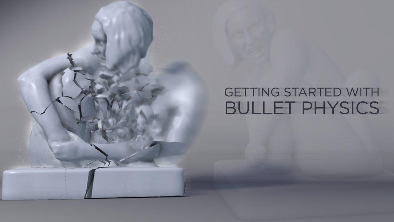 Bullet Physics in Maya - Bullet Solver Basics - Pluralsight