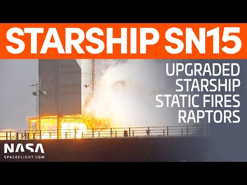 Starship SN15 Static Fire | SpaceX Boca Chica