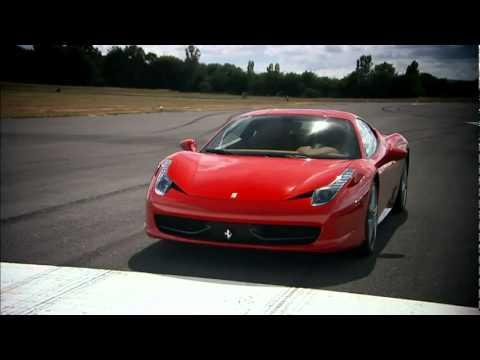 top gear ferrari 458 italia dissolve - youtube