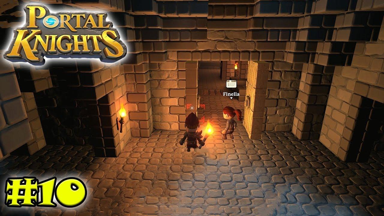 Portal Knights 10 Ruinen Erkundung Auf Den Herbstquellen Mora