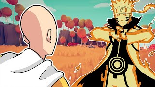 NARUTO VS SAITAMA - Totally Accurate Battle Simulator