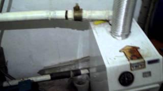 Простая установка газового котла