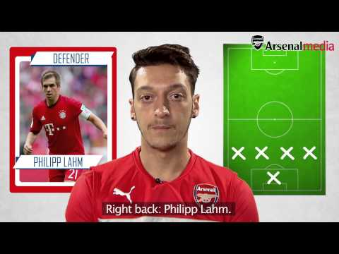 Mesut Ozil's Ultimate XI | Does Cristiano Ronaldo make it?
