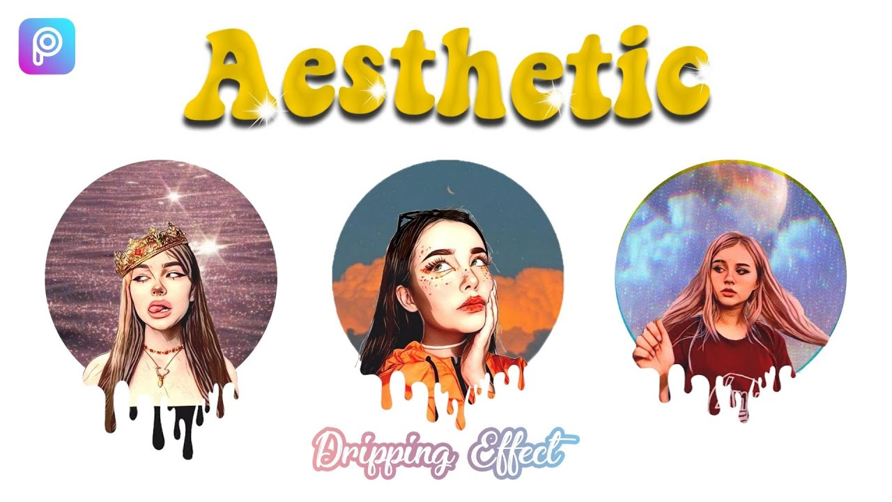 ⚡ Aesthetic Dripping Effect | EASY Picsart Tutorial | Step by Step