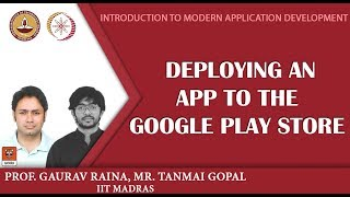 Module 18: Deploying an app to the Google Play Store