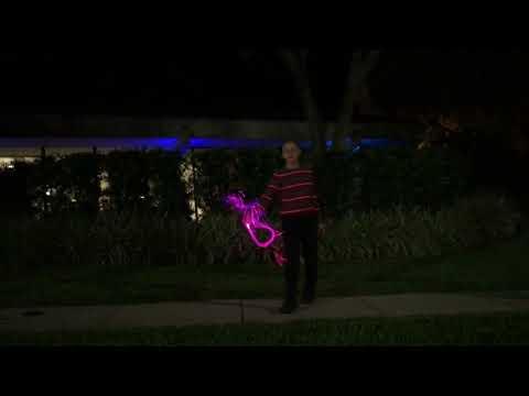 Light Whipping (Fiber Optic Light Whip) A Thousand Years - Christina Perri