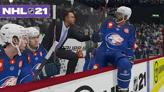 NHL 21 BE A PRO #2 *THE COACH'S CHALLENGE*