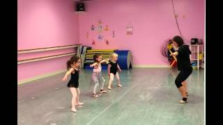 3 Year Old Girl (with Down Syndrome) in Dance Class