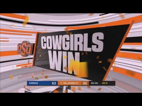Oklahoma State Cowgirl Basketball vs. Kansas