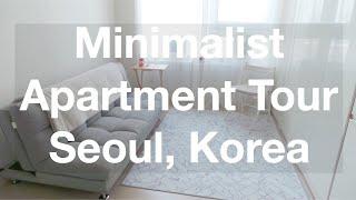 Minimalist Style Seoul Apartment Tour $650/Month | Amelia Basia