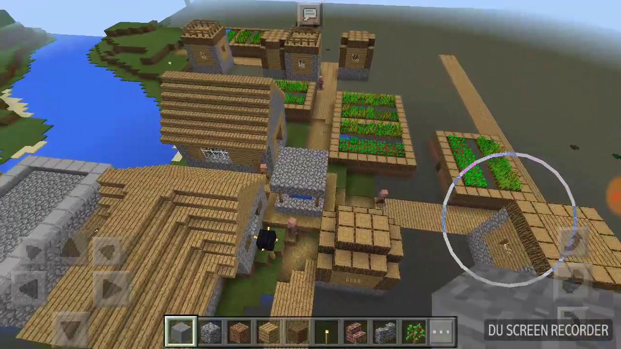 сид на майнкрафт 1.12.1 на деревню с домиком ведьмы #1