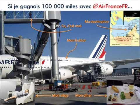 """""""Un jour... J'ai vu sur Twitter"""" le concours Air France 100 000 miles !"""