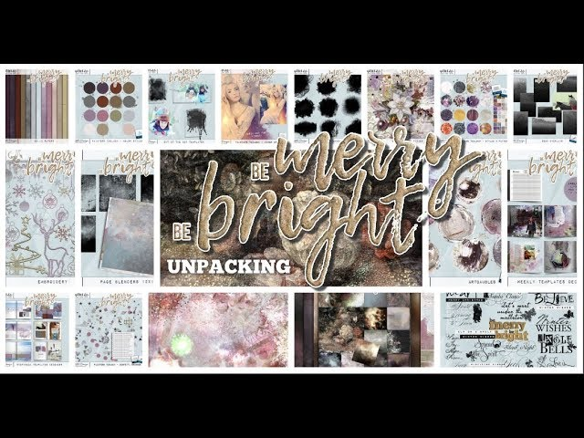 Unpacking Be merry be Bright by NBK-Design