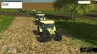 """Farming Simulator 2015 модификация """"следуй за мной"""""""