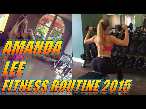 Amanda Lee Fitness Model – Fitness and Workout Routine – Female Fitness Motivation