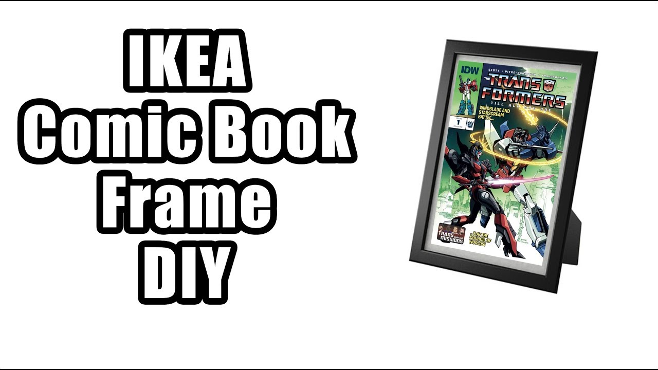 IKEA Comic Book Frame DIY Guide - YouTube