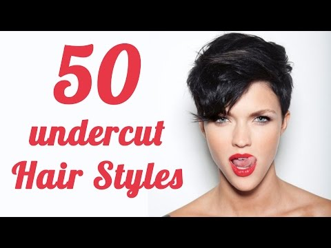 50 undercut female hairstyles