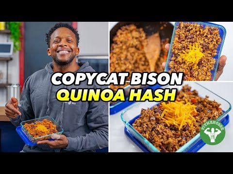Copycat Snap Kitchen Bison Quinoa Hash