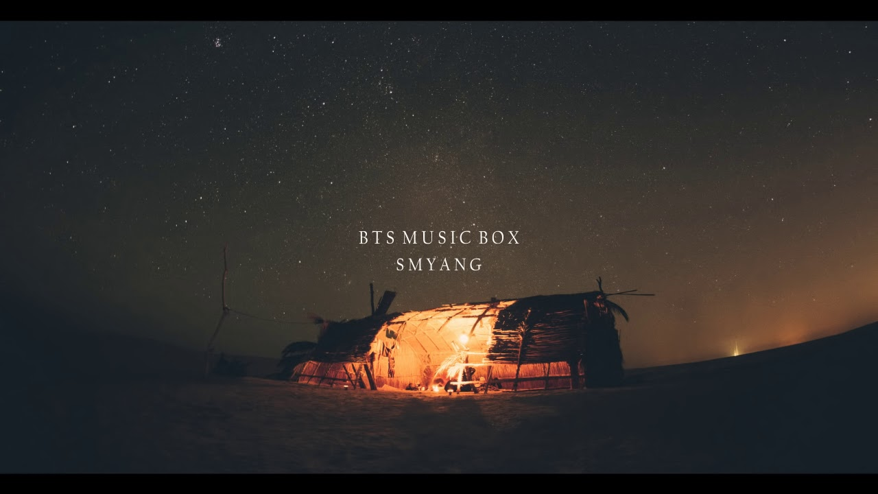 1 Hour Relaxing BTS Music Box for Sleeping and Studying