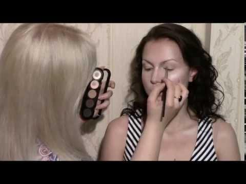 Искусство макияжа видео уроки от анастасии барановой