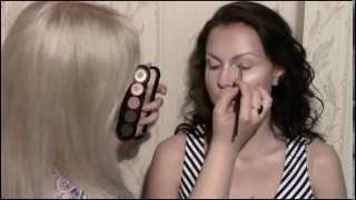 Коррекционный макияж от Анастасии Александрович