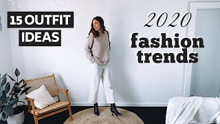 2020 FASHION TRENDS LOOKBOOK | Part Two | 15 Outfit Ideas