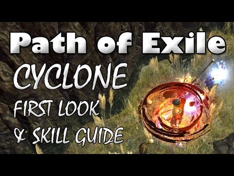 Path Of Exile: CYCLONE First Look & Skill Guide (Patch 0.10.3)