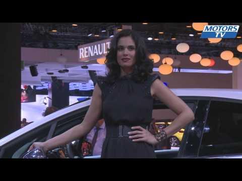 The most beautiful girls Paris Motor Show 2012