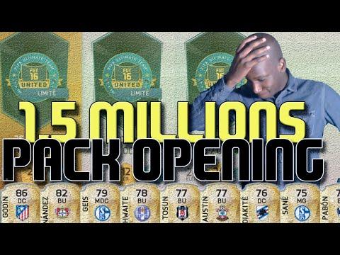 FIFA 16 | 1.5 MILLIONS CREDITS MEGA PACK OPENING !